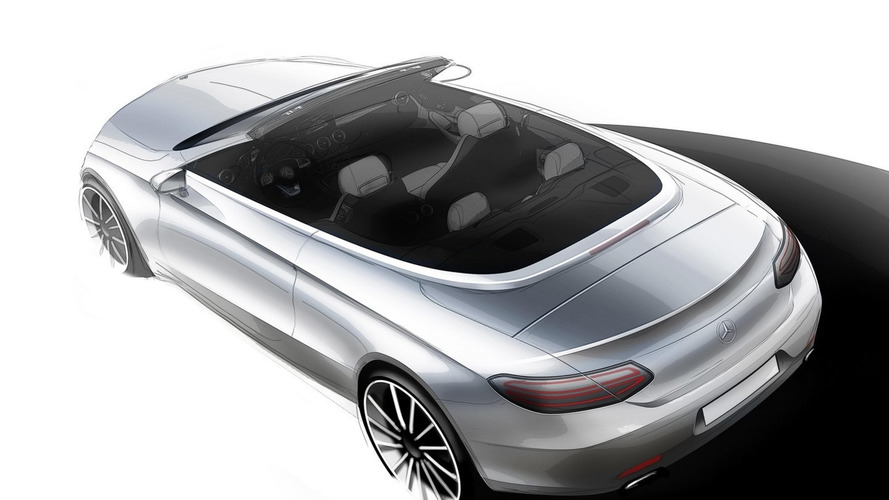 Mercedes sketches out C Class Cabriolet