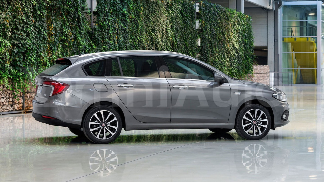 2016 Fiat Tipo wagon render