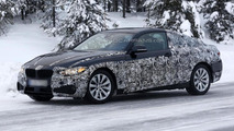BMW 4-Series Coupe spied again