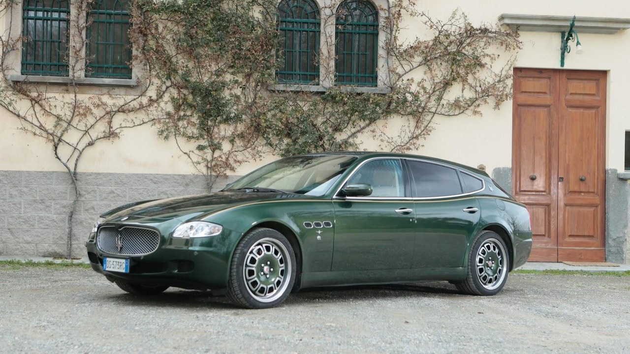 2009 Maserati Quattroporte Shooting Brake 23.05.2013