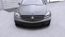 Mercedes CL 500 Black Matte Edition by Famous Parts 17.4.2013
