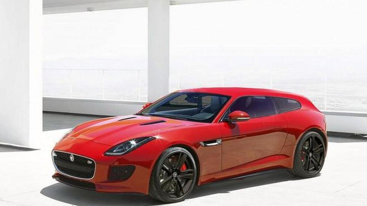 Jaguar F-Type Sportbrake render