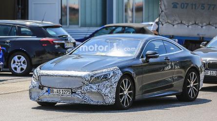 Mercedes-AMG S63 Coupe Facelift Spy Shots