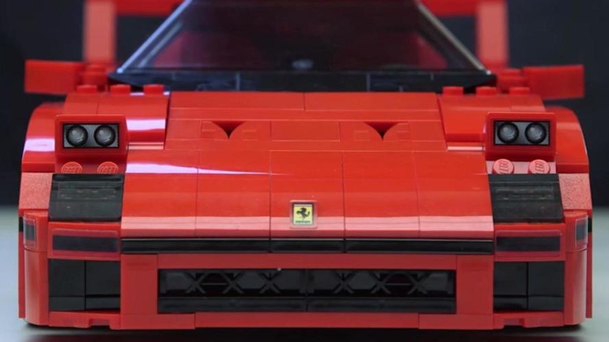 Lego shows off their Ferrari F40 [video]