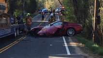 Crashed 2007 Ferrari 599