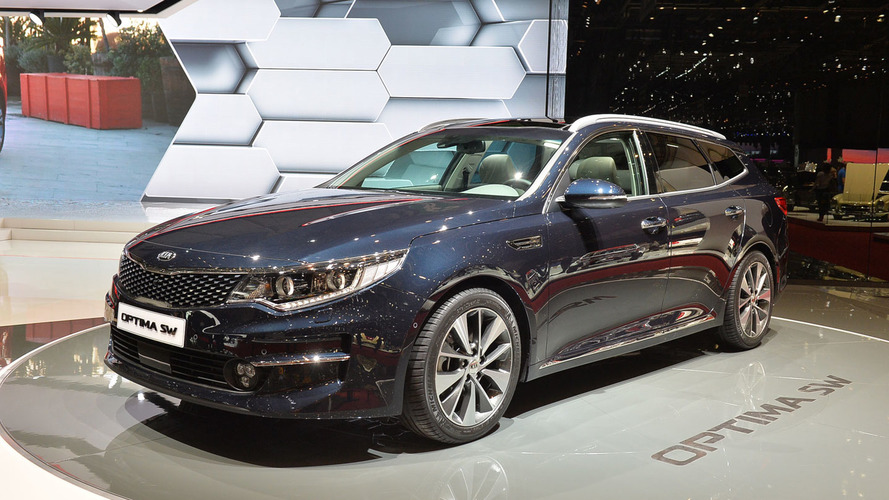 Kia Optima Sportswagon is brand's first D-segment wagon in Geneva