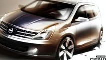 Nissan Livina Geniss design sketch
