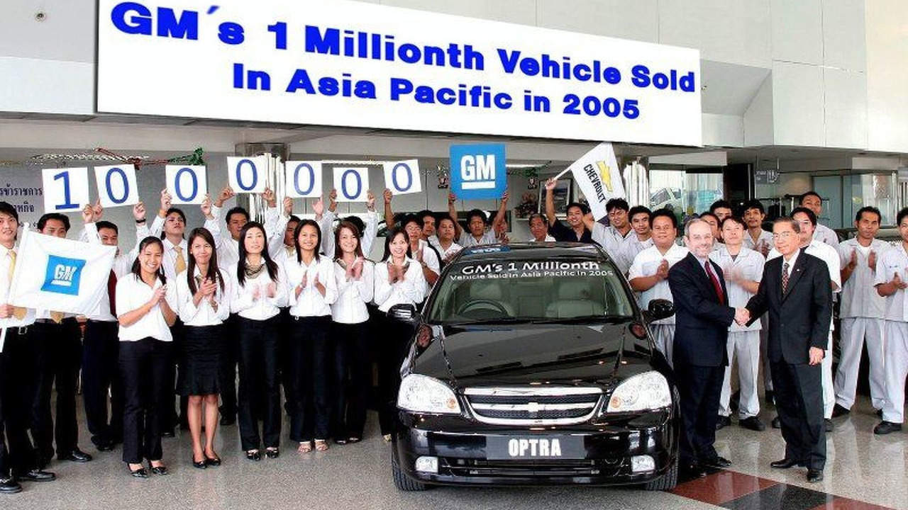 General Motors Reaches New Milestone in Asia Pacific