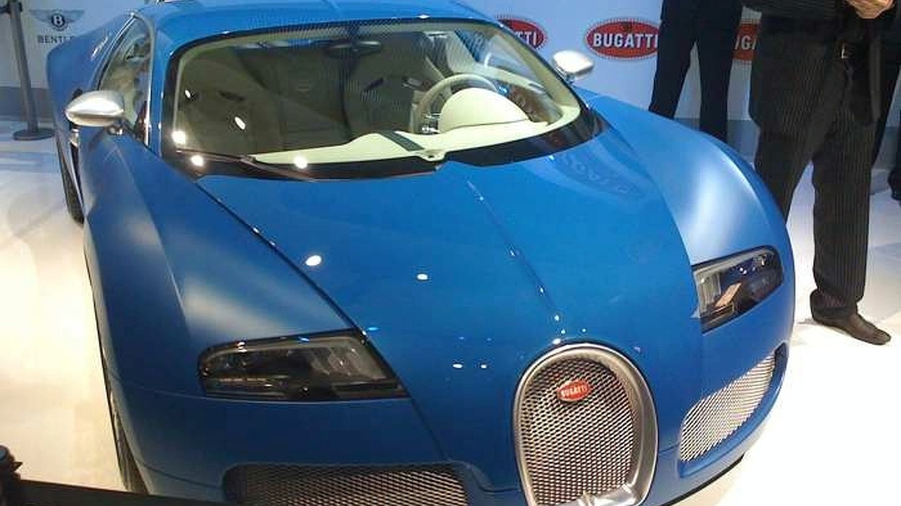 bugatti veyron bleu centenaire unveiled in preview evening. Black Bedroom Furniture Sets. Home Design Ideas
