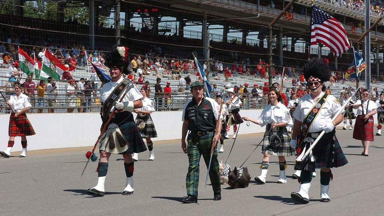 Jackie Stewart on the grid, USA Grand Prix, Indianapolis, USA, 20.06.2004