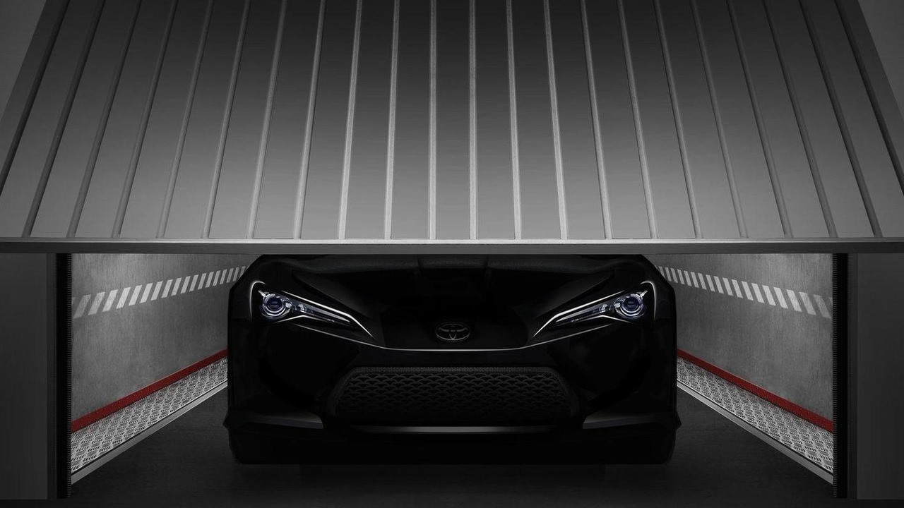 Toyota FT-86 II teaser ahead of Geneva 26.01.2011
