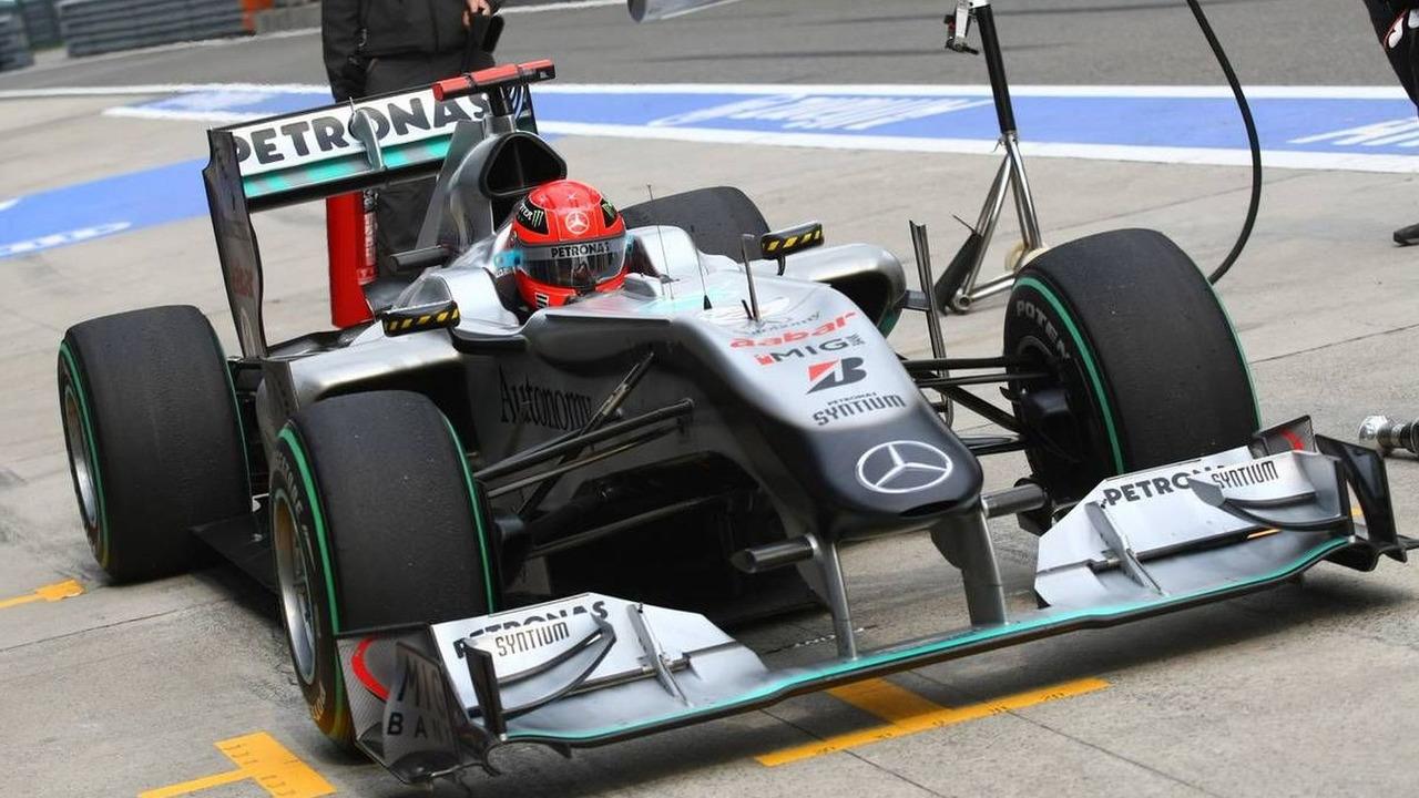 Michael Schumacher (GER), Mercedes GP Petronas, Chinese Grand Prix, 16.04.2010 Shanghai, China