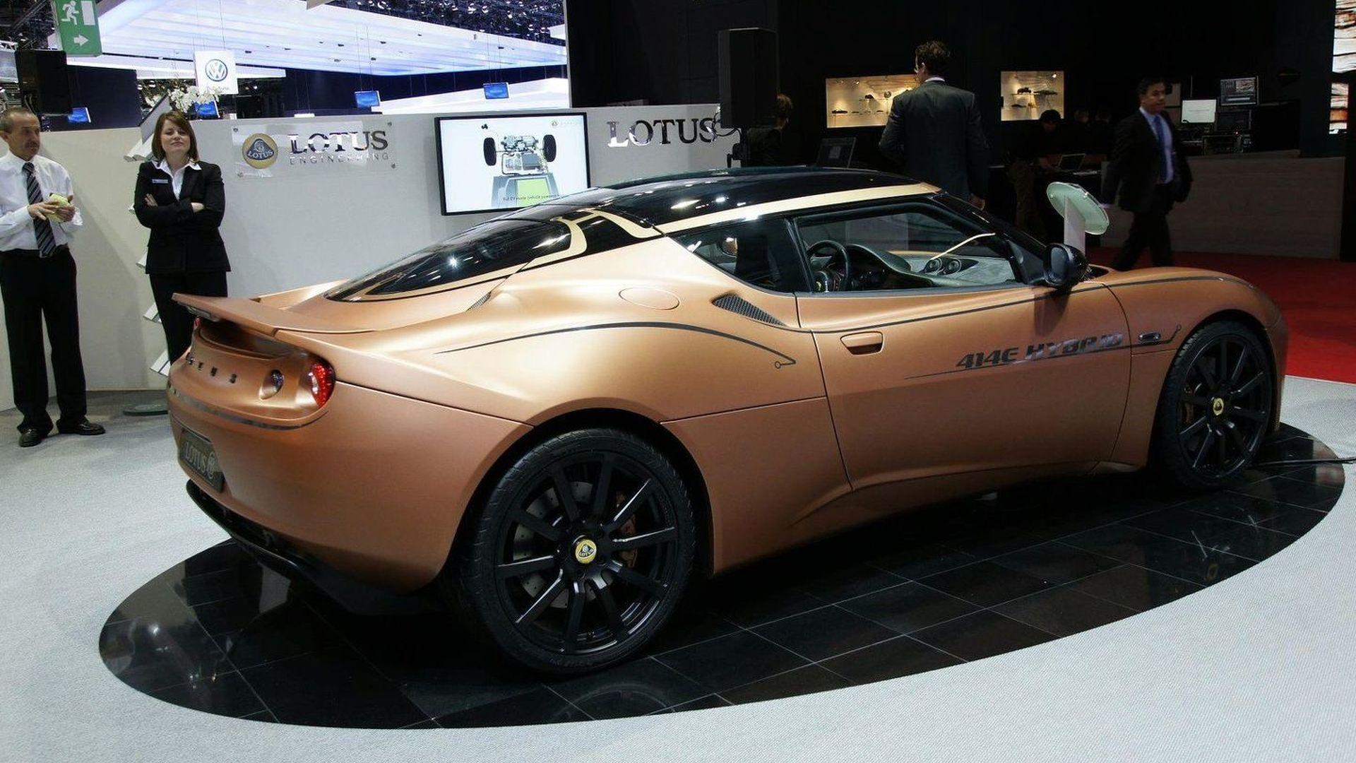 Lotus Evora 414E Hybrid World Debut in Geneva