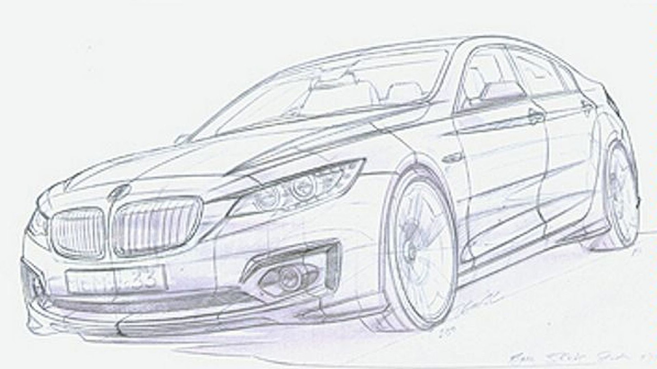Unidentified 2011 BMW 3-series design sketch