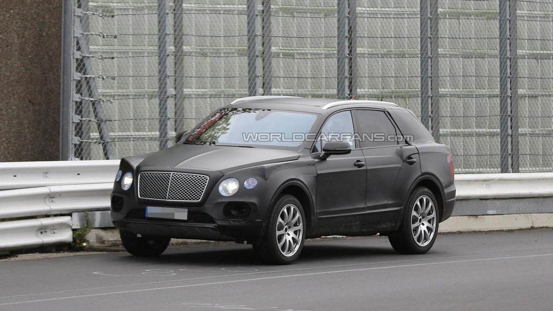 Bentley could launch a smaller SUV in the years to come