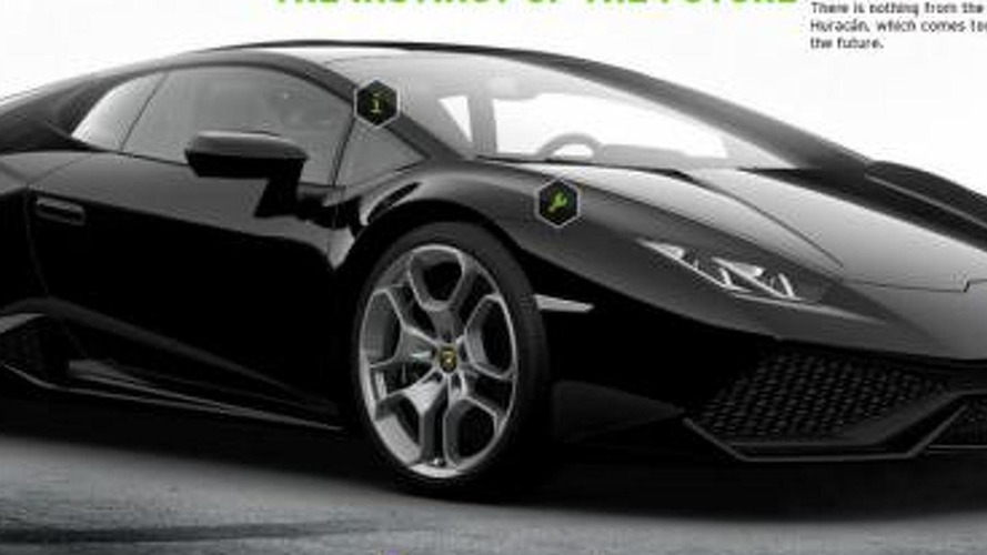 Lamborghini Huracan configurator up and running