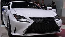 Lexus RC 350 F SPORT at 2014 Geneva Motor Show