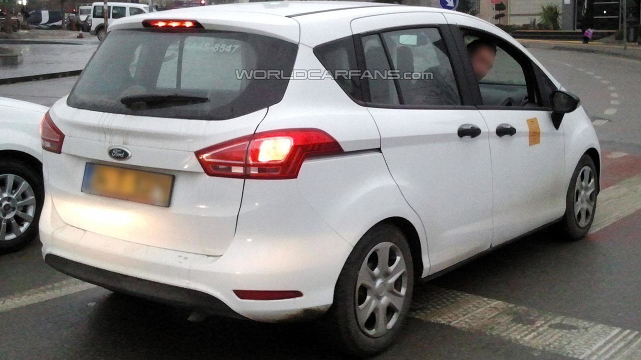 2015 Ford B-Max Facelift spy photo