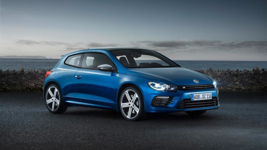 2014 Volkswagen Scirocco facelift unveiled with a series of cosmetic and engine updates