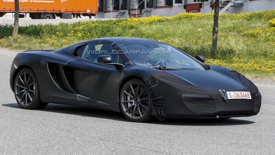 2014 McLaren MP4-12C facelift spied with minor changes
