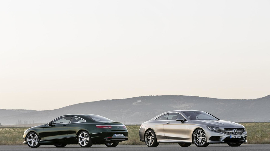 Mercedes-Benz S-Class Coupe spotted in the metal [video]