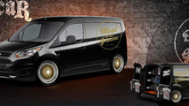 BLOOD & GREASE Ford Transit Connect for SEMA 25.10.2013