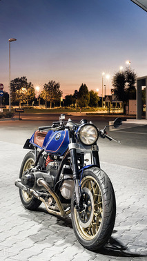 North East Custom BMW R100 RS Racer