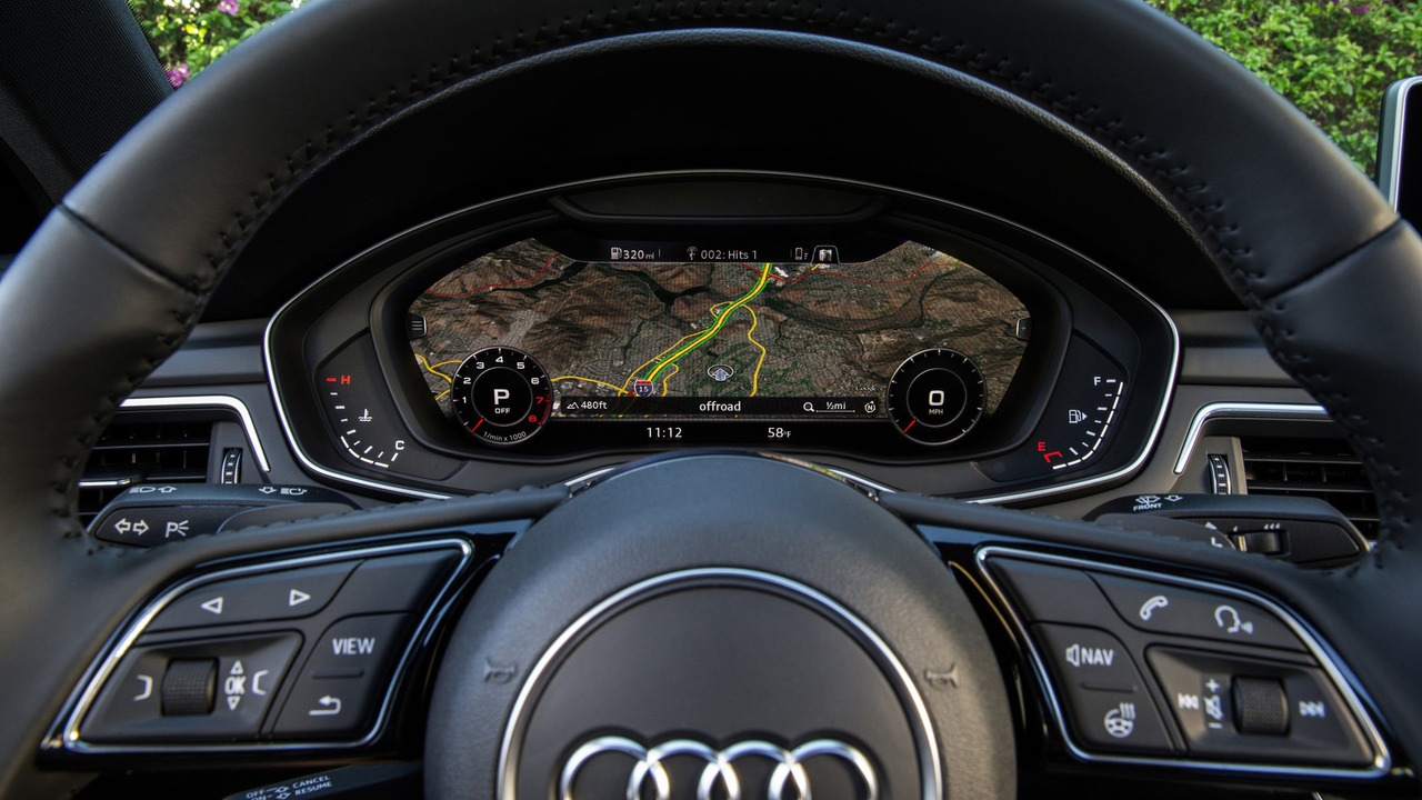 2017 Audi A4 instrument cluster