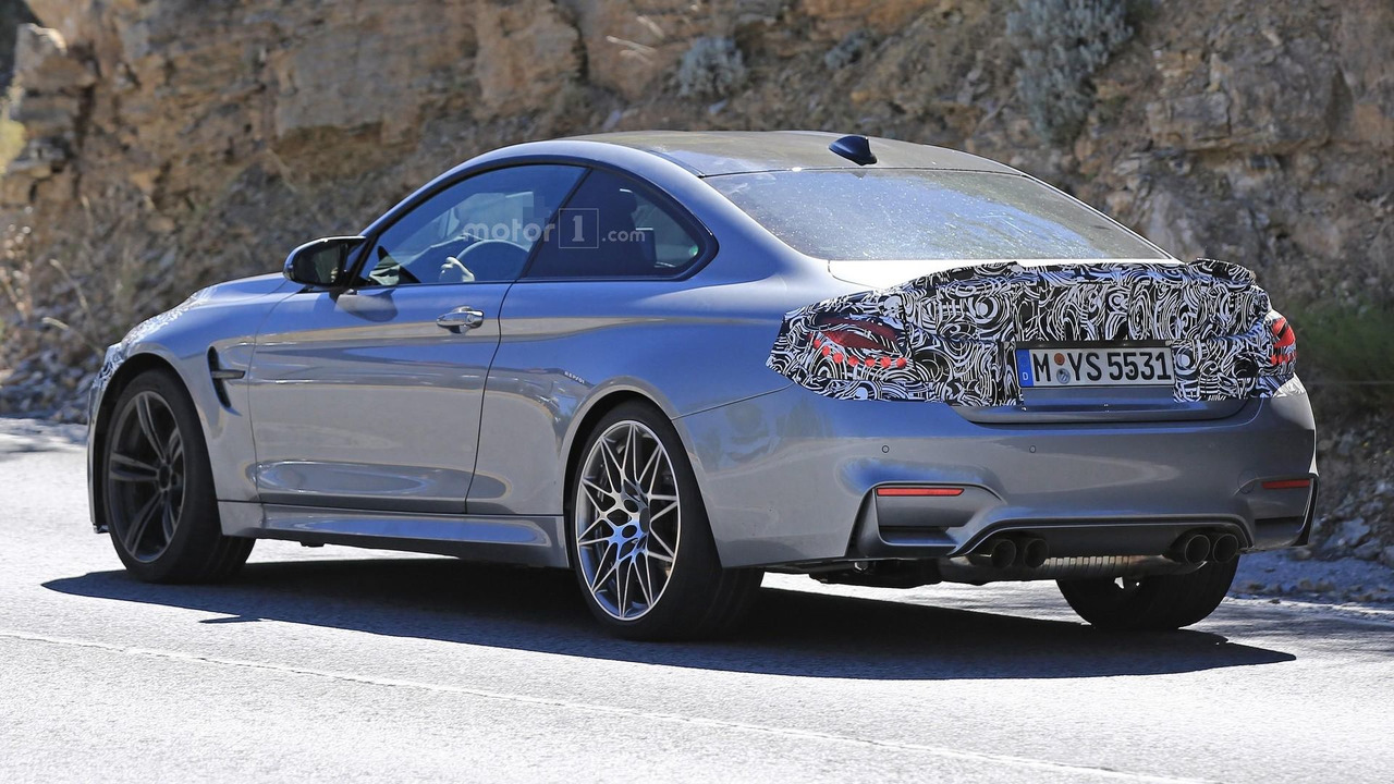 2014 - [BMW] M3 & M4 [F80/F82/F83] - Page 23 2017-bmw-m4-facelift-spy-photo