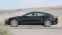 2012 Tesla Model S spied 02.08.2011
