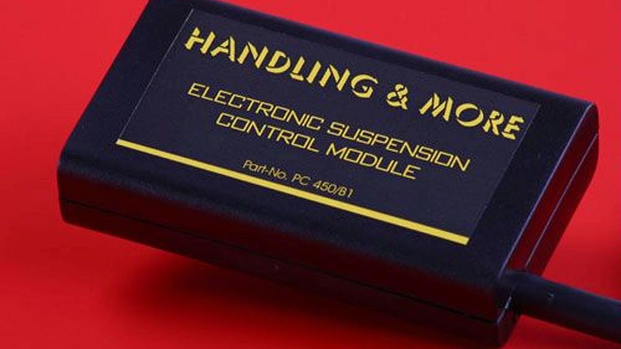 MRF suspension module for the Porsche Cayenne