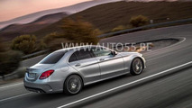2014 Mercedes C-Class leaked again, could be launched with three engines
