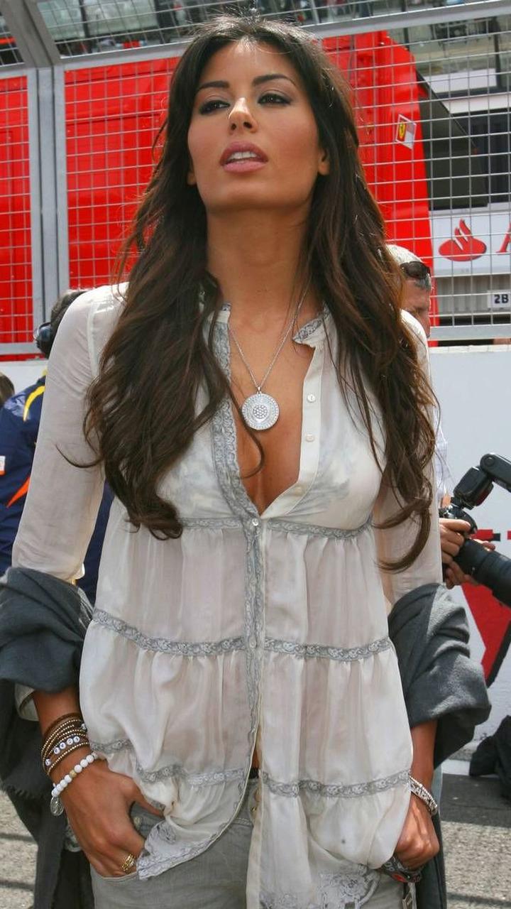 Elisabetta Gregoraci (ITA), Wife of Flavio Briatore (ITA), British Grand Prix, Silverstone, England, 21.06.2009