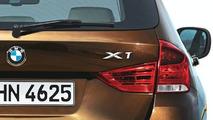 BMW X1 SUV Teaser Photo - rear