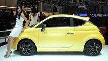 Fiat 500 Coupe Zagato concept live in Geneva - 01.03.2011
