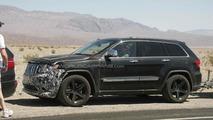 Jeep Grand Cherokee SRT8 spy photo