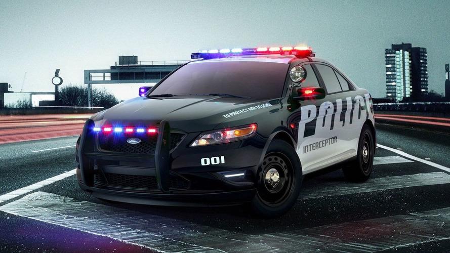 All-New 2012 Ford Taurus Interceptor Police Car Revealed