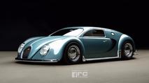 En 1945, la Bugatti Veyron aurait pu ressembler à ça