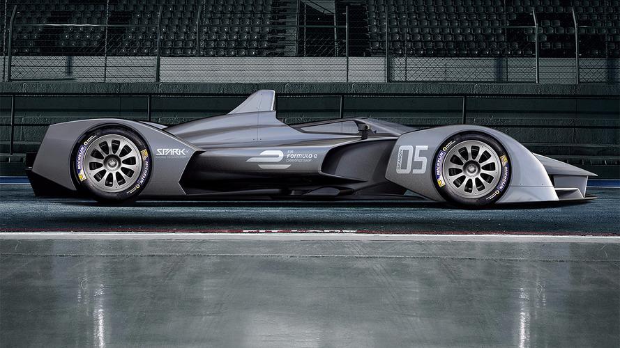 Future Formula E cars could look like this