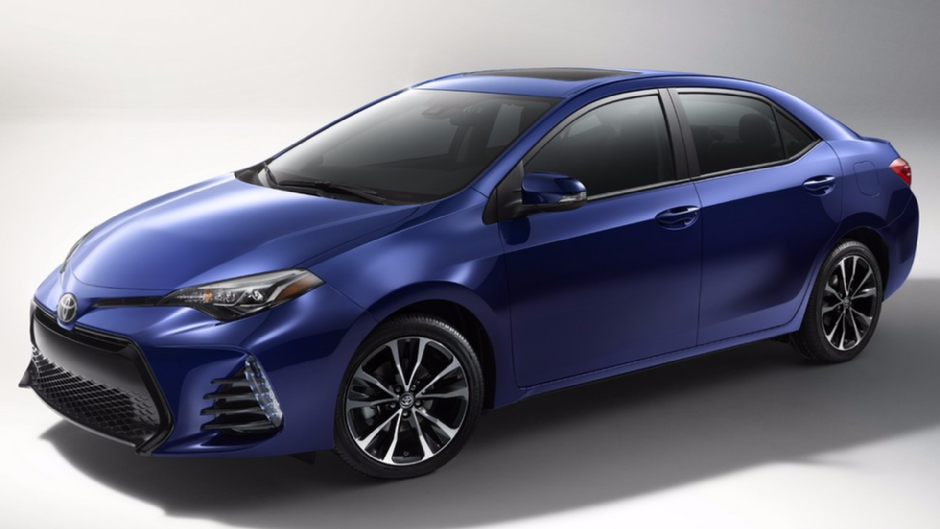 2017 Toyota Corolla refreshed for US market