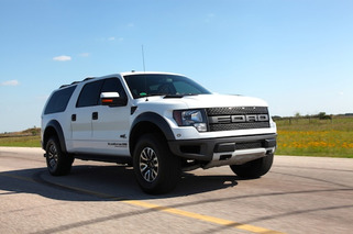 Hennessey Velociraptor SUV: Ford Excursion Returns with a Supercharger