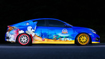 Honda Civic goes Sonic the Hedgehog for Comic-Con