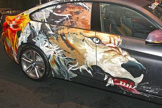 Cars Meet Art Turns Auto Show into Stunning Art Gallery