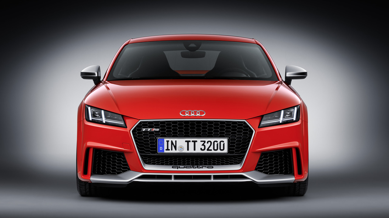 Marketed under the audi sport label the new tt rs models will be launched on the european market in fall 2016 the coup prices start at 66 400 euros