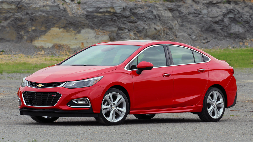 First Drive: 2016 Chevy Cruze