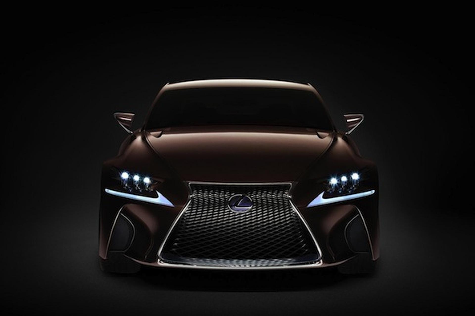Lexus Teases New Concept for Frankfurt Motor Show