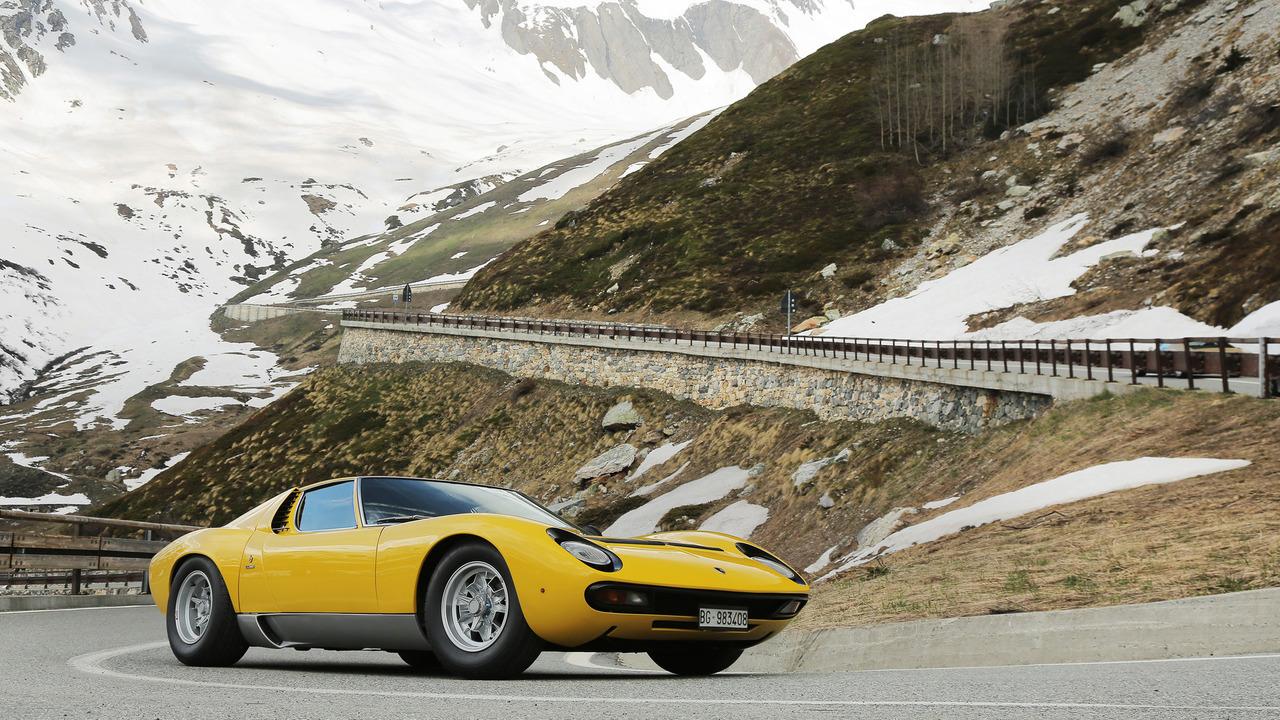 Lamborghini Miura turns 50