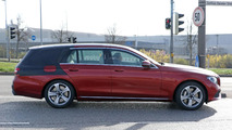 2017 Mercedes E Class Estate spied hiding the obvious