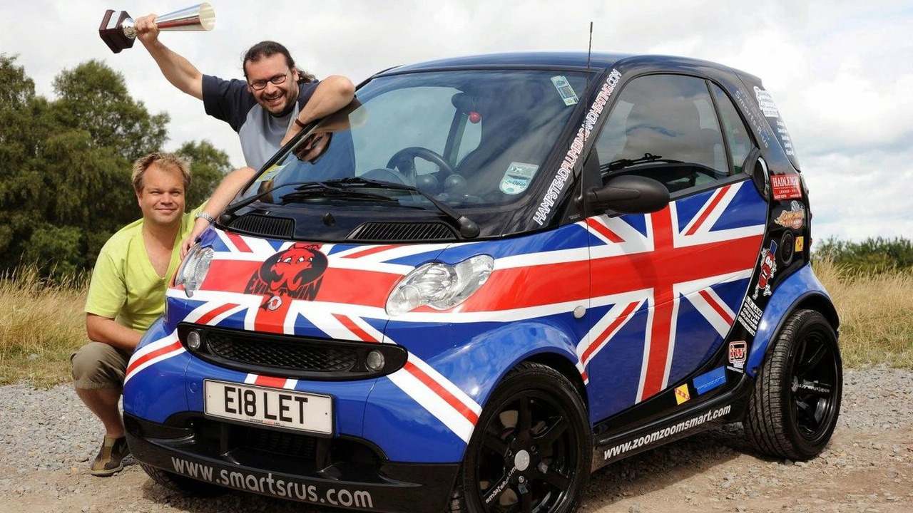 smart fortwo Cannonball Run 2008 winner