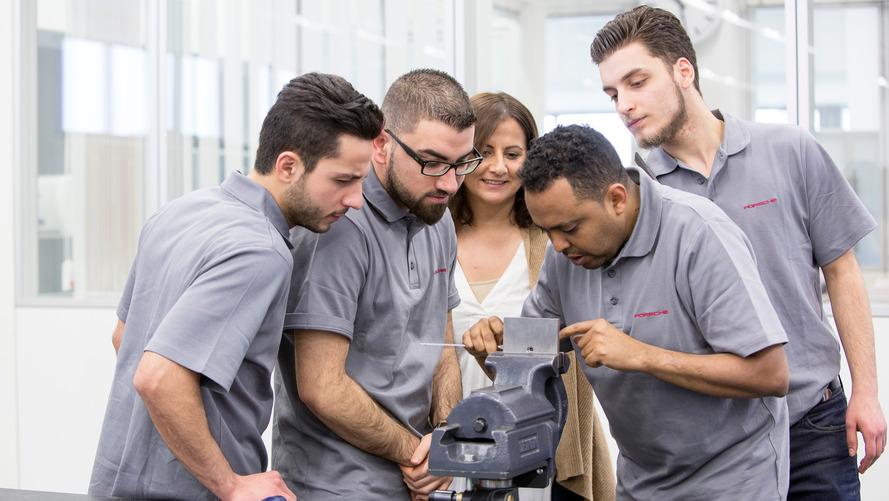L'action de Porsche en faveur des réfugiés de guerre